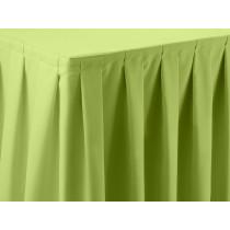 Apple Green Dimension Box Pleat Skirt