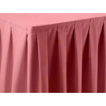 Bubble Gum Pink Dimension Box Pleat Skirt
