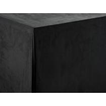 Black Sandringham Trestle Tablecloth