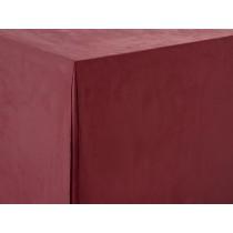 Burgundy Sandringham Trestle Tablecloth